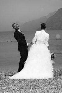 Foto del matrimonio di Nick e Lalla, (Nicola e Laura) realizzata a Torbole, sul lago di garda da Video Vicenza #videovicenza #matrimonio
